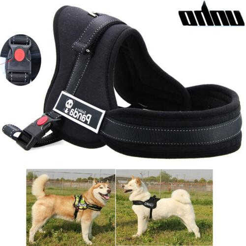 Pet Control Soft Reflective Pull Harness for Large Small