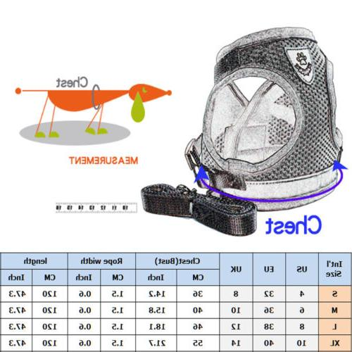 Pet Cat Dog Mesh Walk Safety Vest
