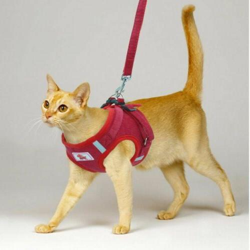 Pet Control Harness Soft Collar Safety Strap Vest Leash