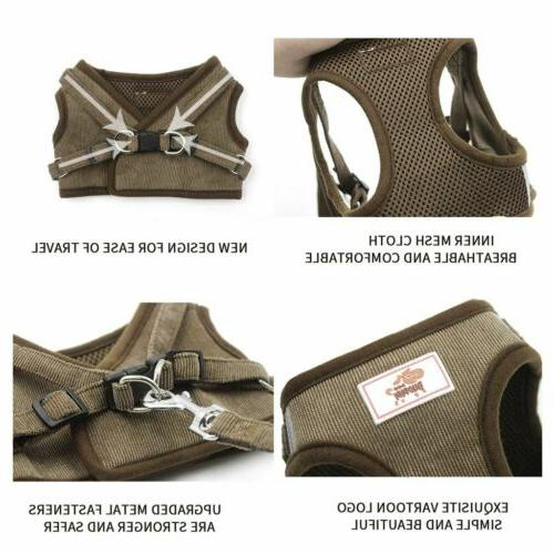 Small Dog Breathable Mesh Harness Chest Strap