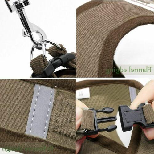 Small Mesh Harness Chest Leash XS-XL