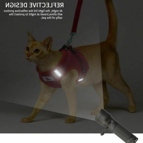 Pet Dog Harness Collar Safety Leash