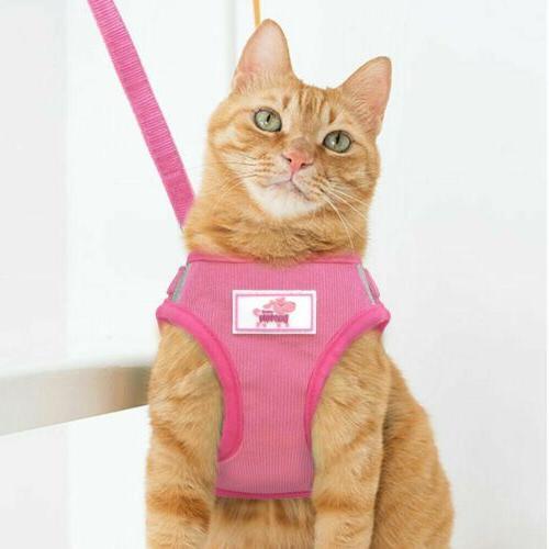 Small Dog Mesh Harness Collar Chest Strap XS-XL