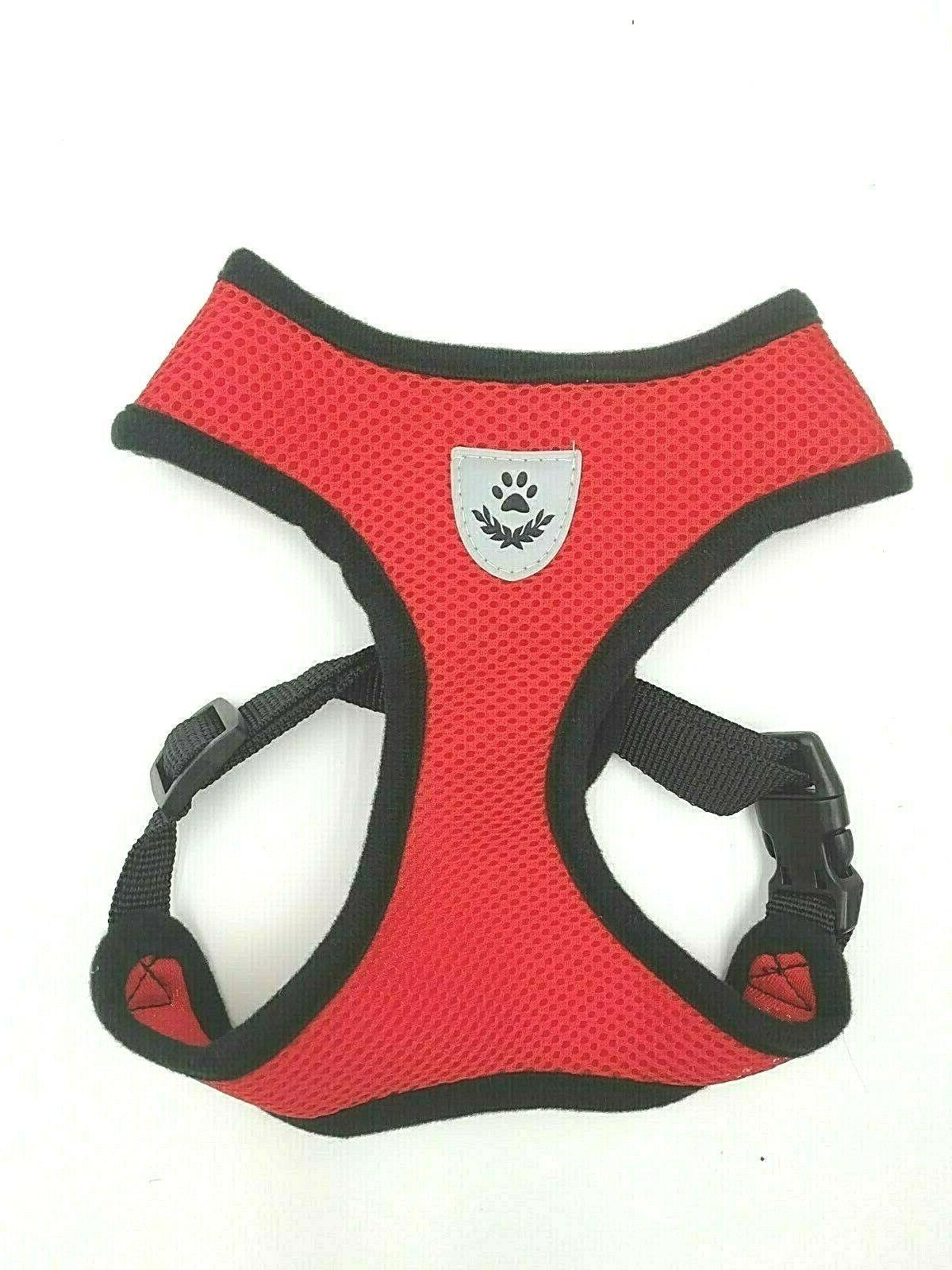 Pet SMALL Dog Harness Soft Walk Vest