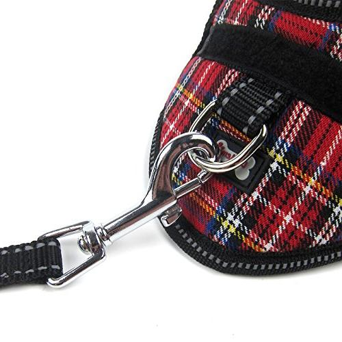 Couture Vest Leash Set - Red, Size: Medium