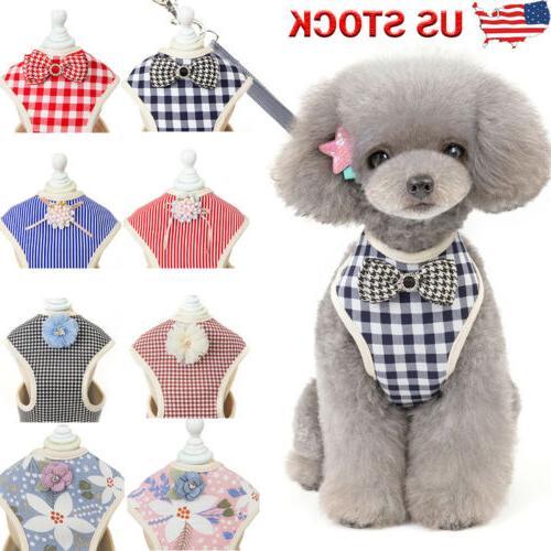 pet dog harnesses vest adjustable puppy cat