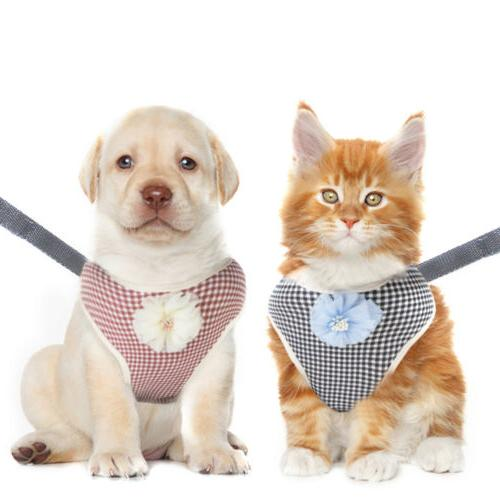 Pet Adjustable Harnesses For Small Medium Dog Cat