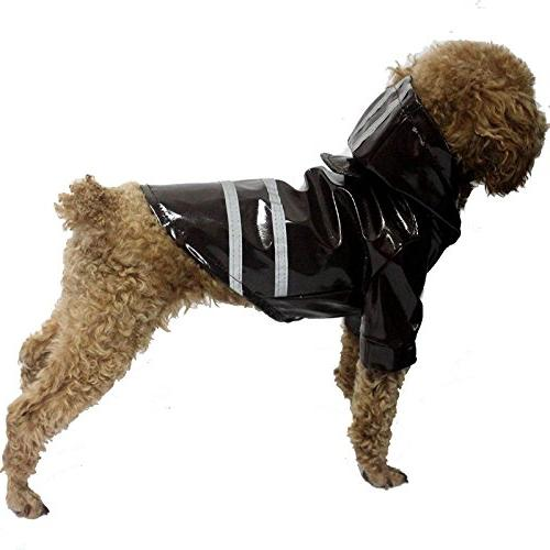 pet dog raincoat waterproof