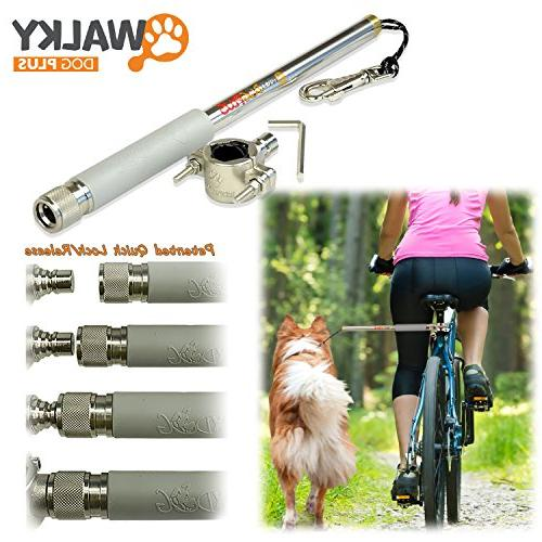 plus hands bicycle exerciser leash