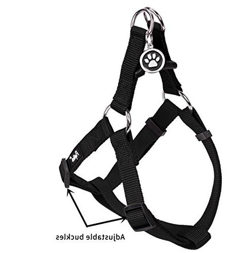 """PUPTECK No Pull Harness Nylon Step in Outdoor Girth 14.8""""-21"""" Small"""