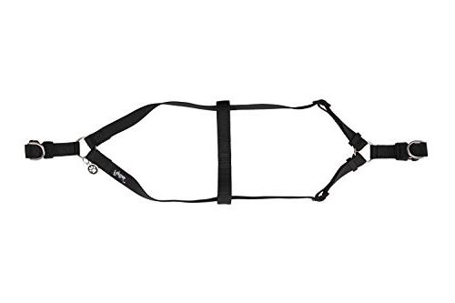 """PUPTECK No Pull Harness Basic Step in Puppy Outdoor Walking Chest 14.8""""-21"""" Small"""