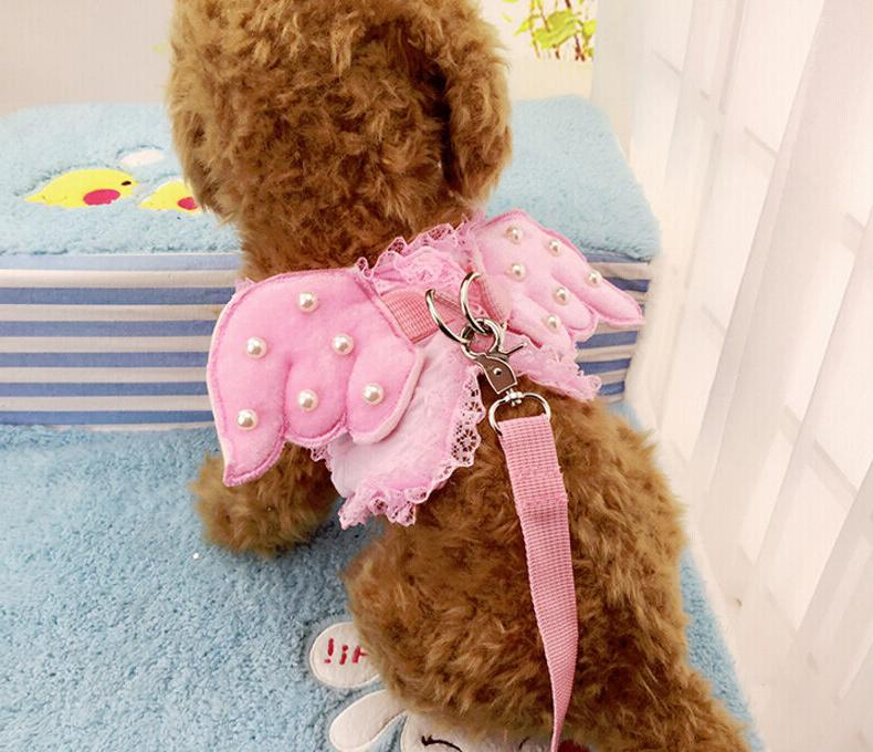 Puppia Dog puppy Soft Harness VEST Small Cat Kitty Collar Le