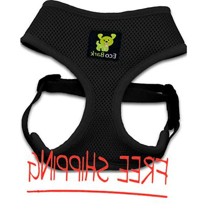 EcoBark Puppy Dog Harness 4-65lbs No Choke Double Padded Ves