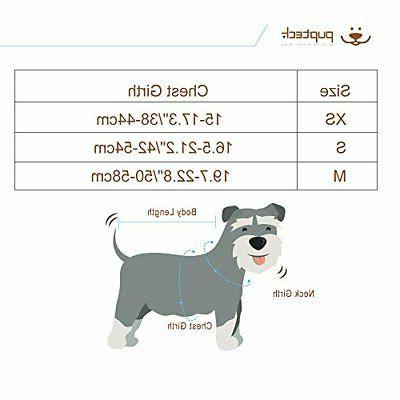 PUPTECK for Dogs Adjustable Soft S Black