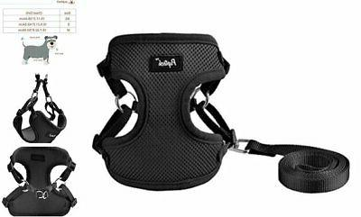 pupteck harness for small dogs leash set