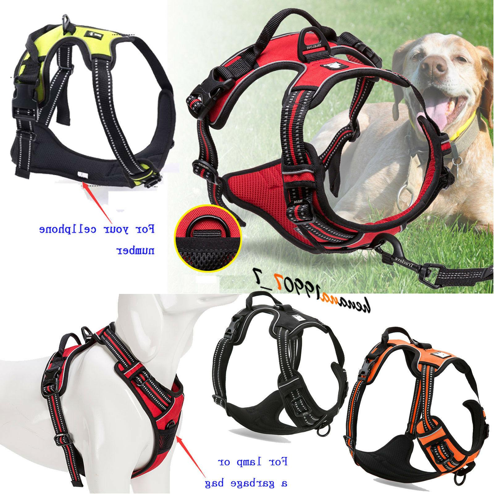 RABBITGOO No Pull Dog Harness Large Dog Pet Harness Adjustab