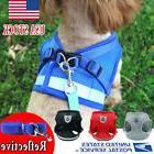 Reflect Dog Leash Harness Set Adjustable Durable fo Small Me