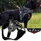 Reflective Large Dog Harness Nylon Mesh Training Vest W/ Han