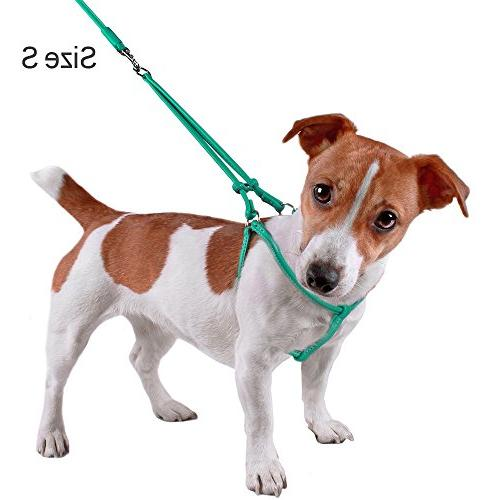 CollarDirect Harness Step-in Leash for Walking Pink Green Black Brown Yellow