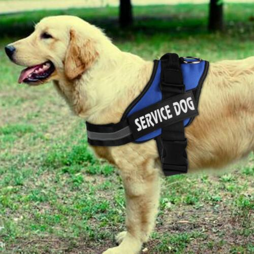 Reflective Service Dog Padded Patches