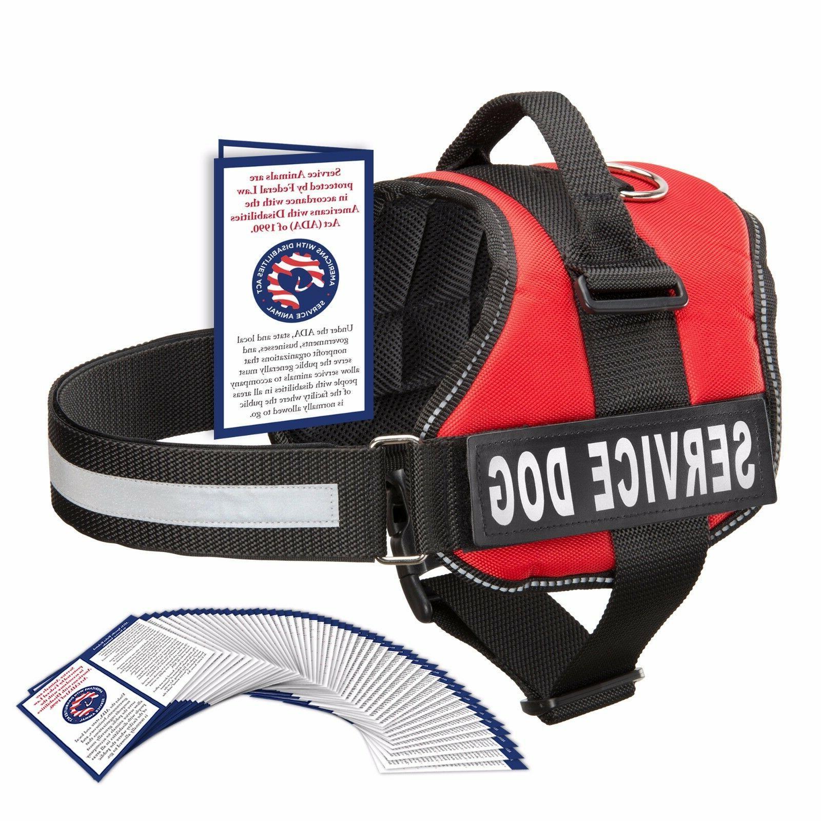 service dog vest harness w 50 folded