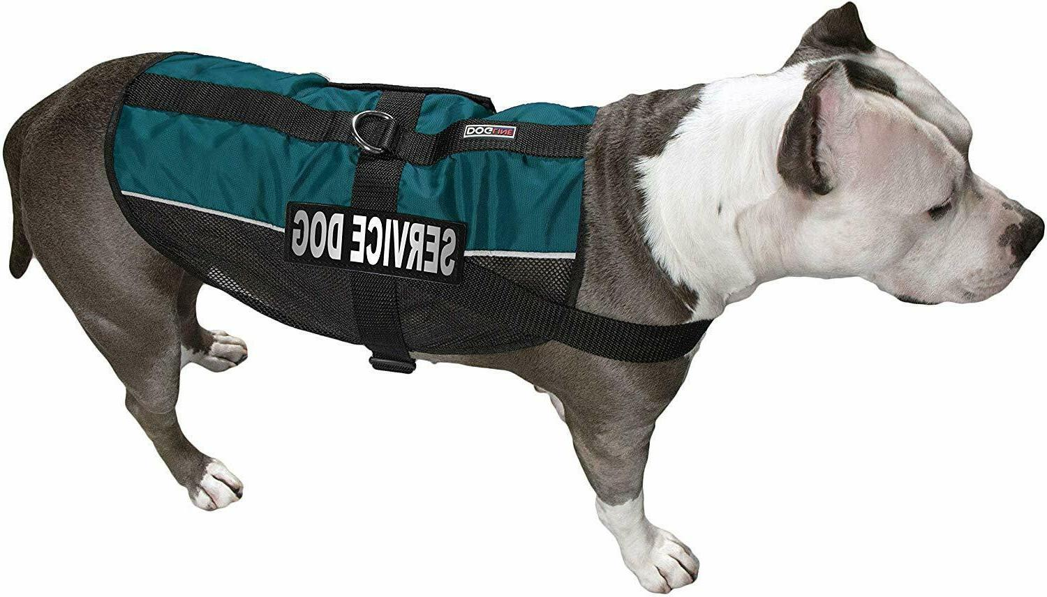 Service Dog Vest with Patches