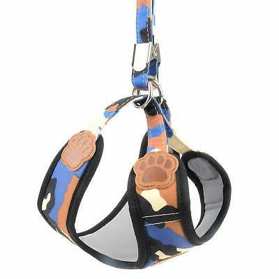 SMALLLEE_LUCKY_STORE Small Dog Cat Mesh Harness and no Adjustable...