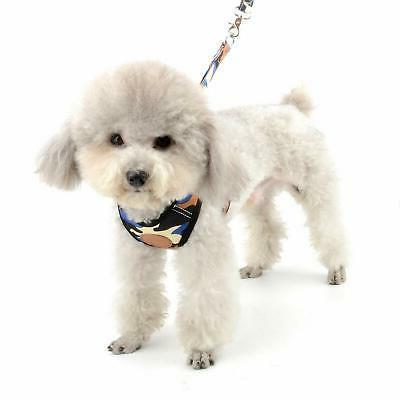 SMALLLEE_LUCKY_STORE Dog Mesh Harness and Lead no Escape