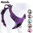 JUXZH Soft Front Dog Harness .Best Reflective No Pull Harnes