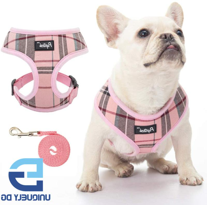 PUPTECK Soft Mesh Dog Harness Pet Puppy Comfort Padded Vest