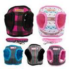 Soft Mesh Dog Harness Vest & Leash for Small Puppy Chihuahua