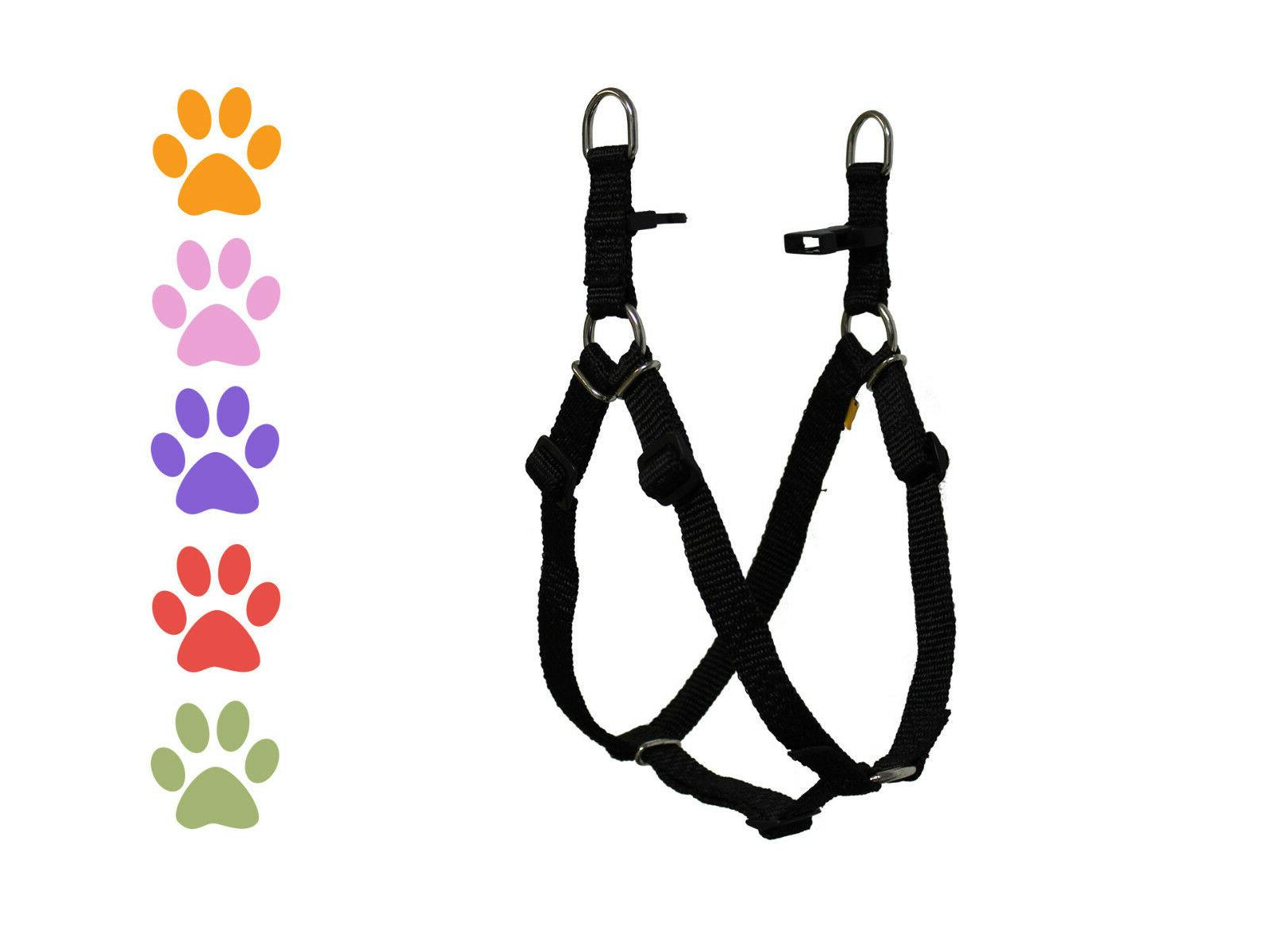Step in Dog Harness Nylon Light for CuteNfuzzy