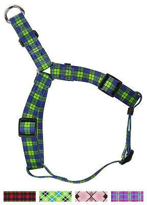 Country Brook Design® Step-In Dog Harness - Plaids and Argy