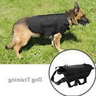 Tactical Dog Harness Nylon Comfortable 4 Sizes S M L XL Adju