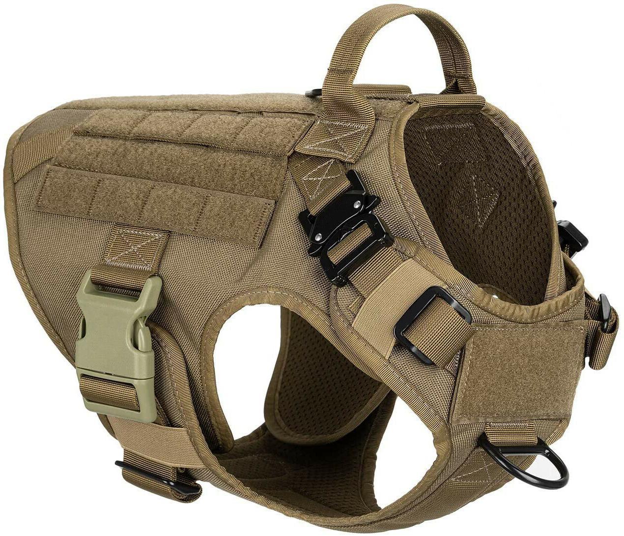 Tactical Dog Handle Large Military Dog Dog