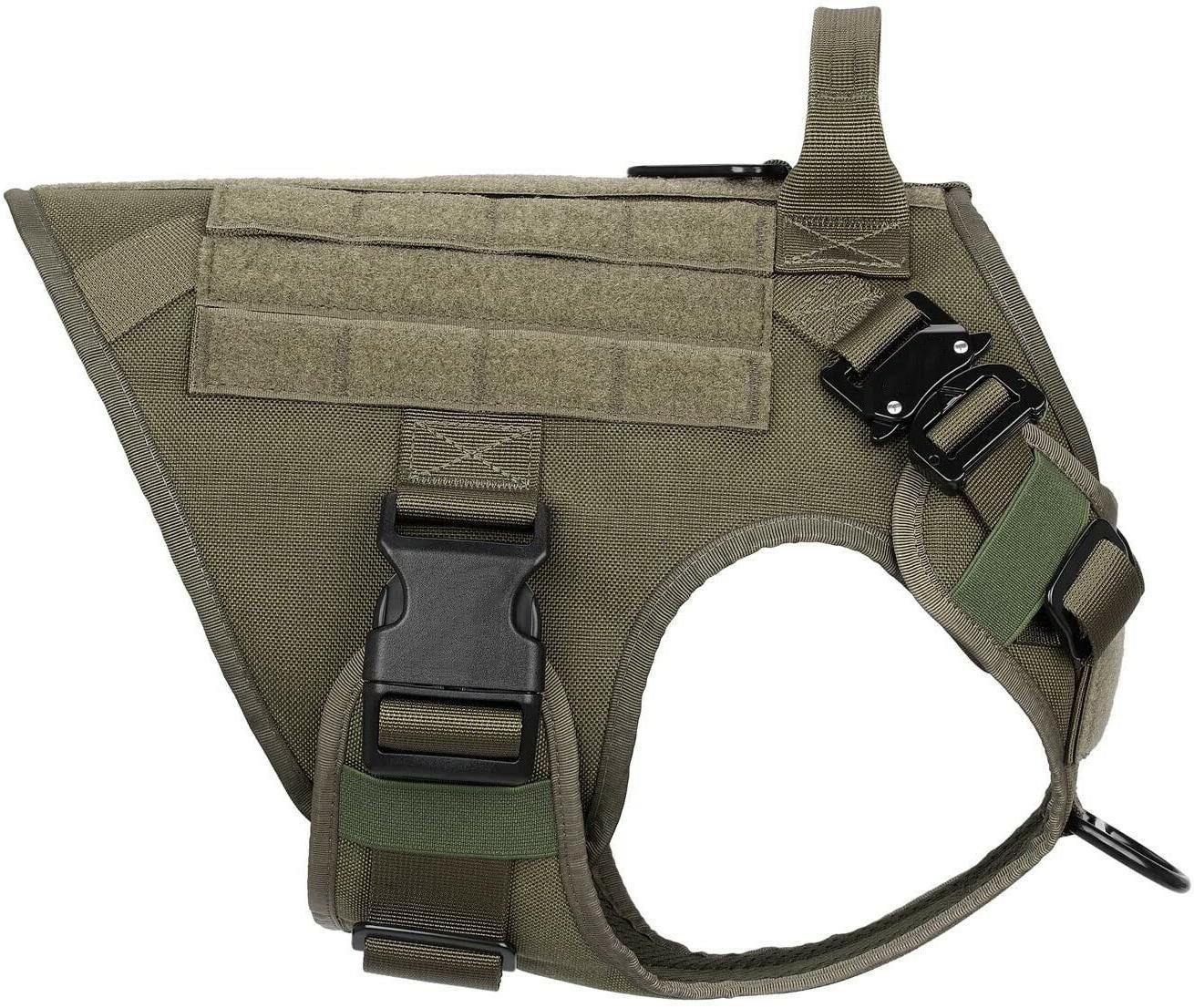 Tactical Dog Handle Dog Vest Dog