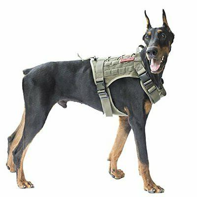 tactical dog vest harness water