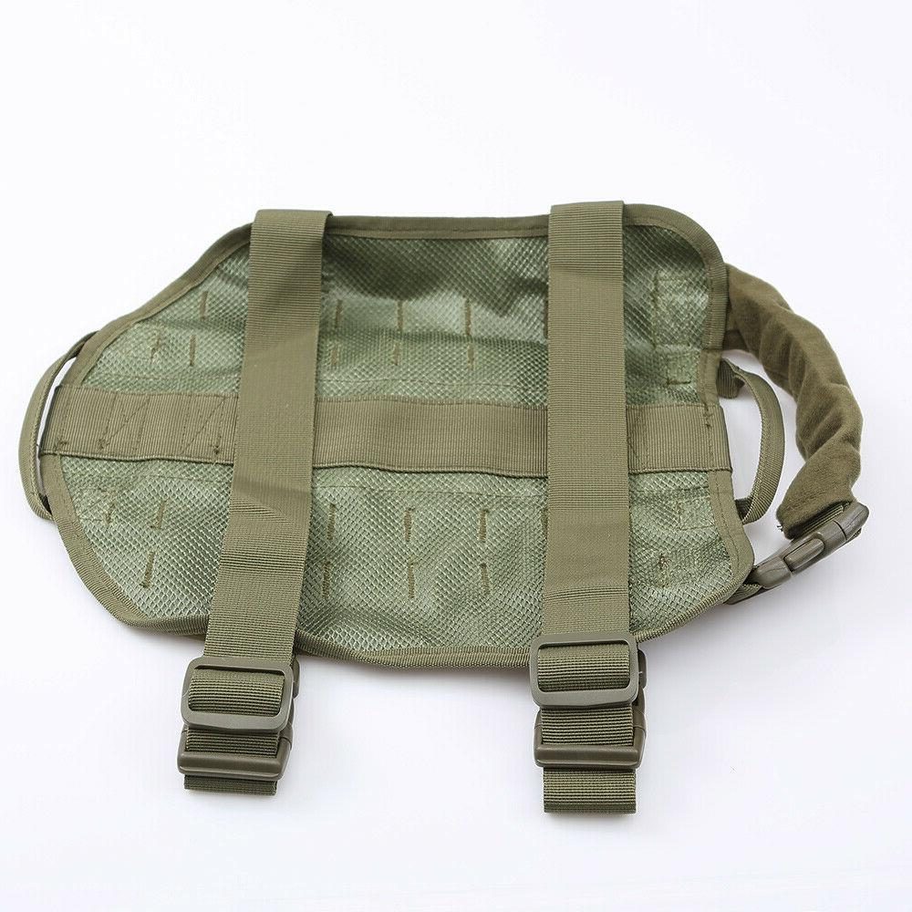 Tactical Dog Harness Canine Service MOLLE