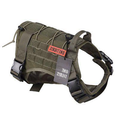 tactical service dog vest water