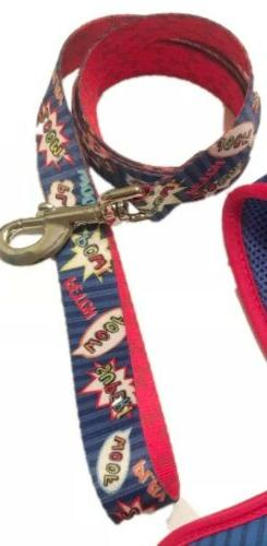 Top Paw® Toby Stripe Comfort Harness size: Large