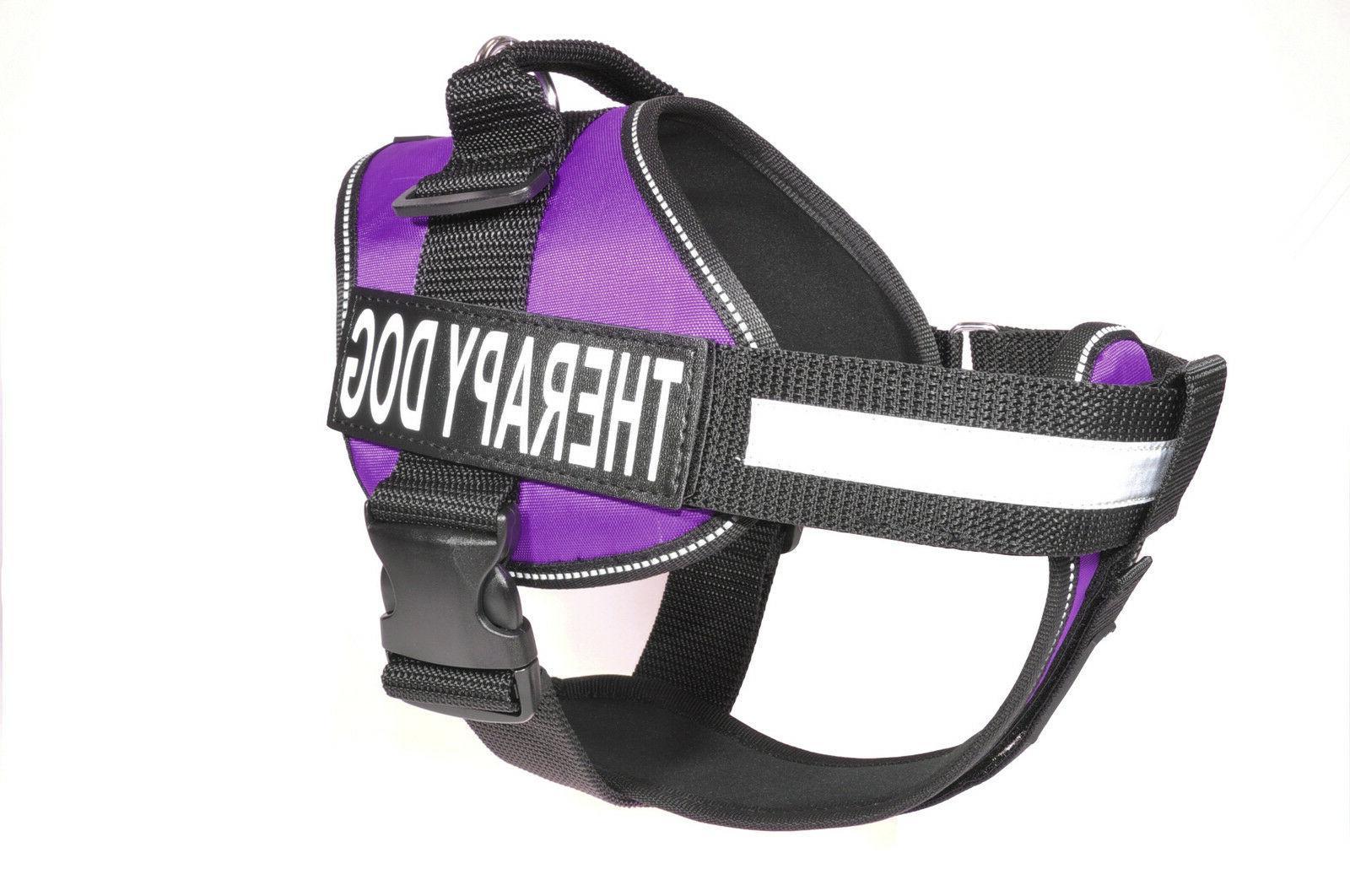 Dogline Unimax Service Dog Harness Vest Removable Chest Plat
