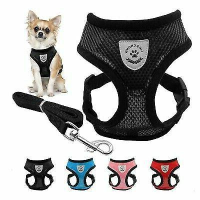 us mesh breathable dog harness and leads