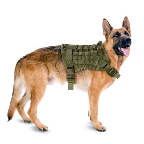 Training Dog Harness Military Adjustable