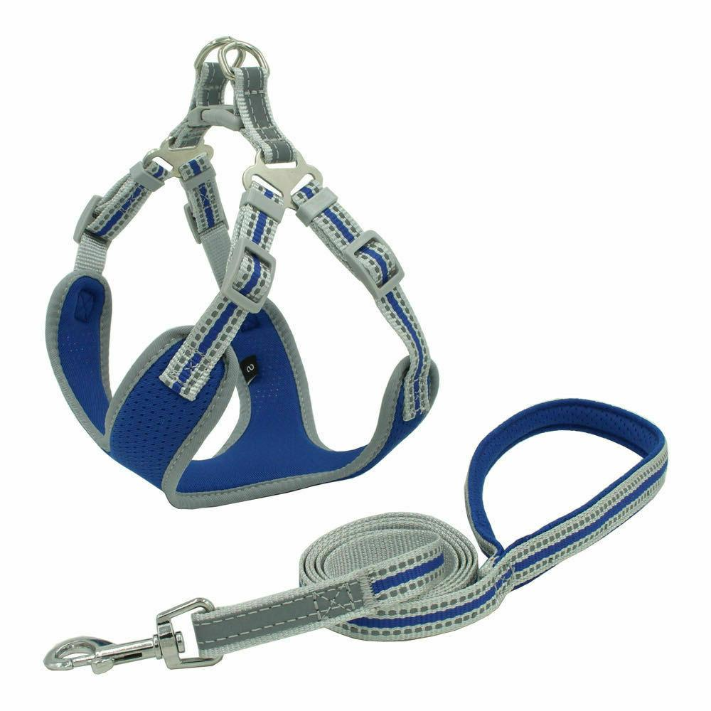 USA Reflective Dog Harness No Pull Adjustable for XS-L