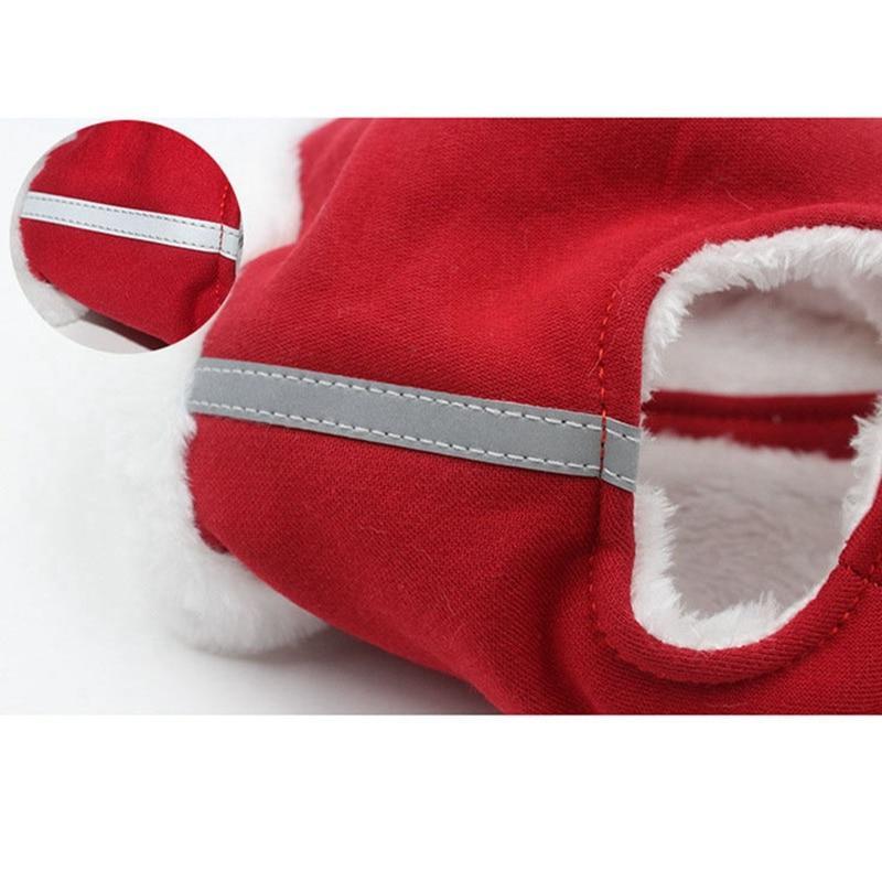 Warm Reflective Vest <font><b>Harness</b></font> <font><b>Dog</b></font> for Small <font><b>Dogs</b></font> Traction Pet Pug Collar Leash