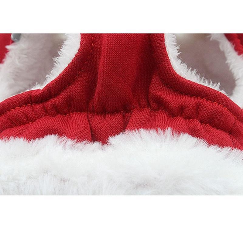 Warm Vest <font><b>Harness</b></font> <font><b>Dog</b></font> for Small Traction For Pet Pug Leash