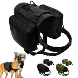 Large Breed Working Dog Harness Military Tactical K9 Molle G
