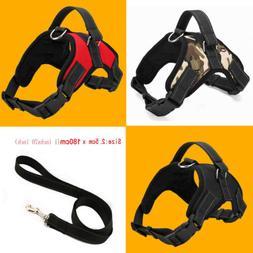 Large Dog Soft Adjustable Harness Pet Walk Out Hand Strap Ve