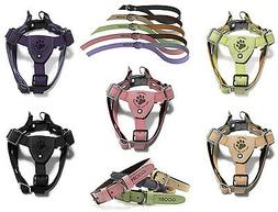Gooby Luxury Step In Small Breed Dog Harness or Matching Lea
