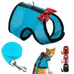 Mesh Dog Harness Comfy Pet Vest Harness Clothes for Chihuahu